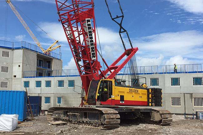 Crawler Crane Experts in the UK & Europe | Delden Cranes