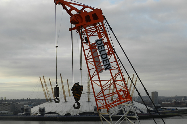 Crawler Crane London