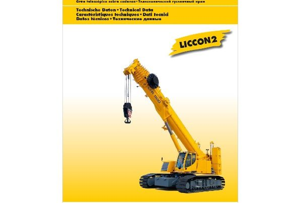 Liebherr LTR1100 for hire
