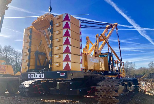 Kobelco CKE2500-2 Crawler crane for sale