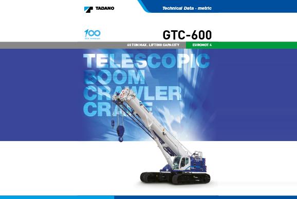 Tadano GTC600