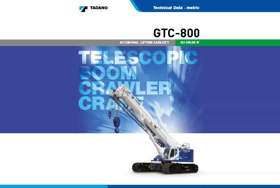 Tadano GTC800