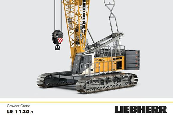 LR1130.1 Crawler Crane Hire
