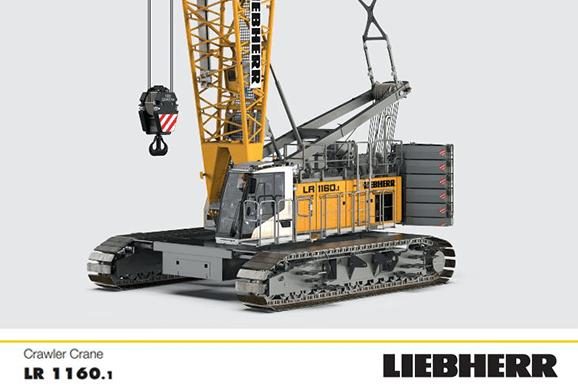 LR1160.1 Crawler Crane Hire