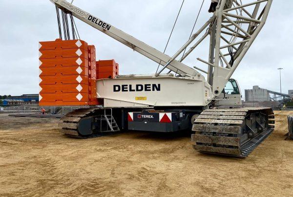 Terex Demag CC2400-1 400t crawler crane
